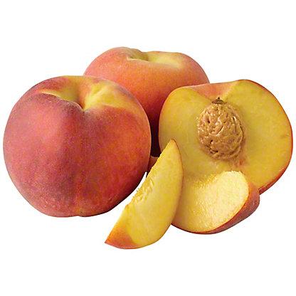 Fresh Large Yellow Peaches