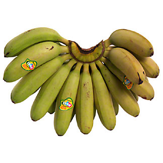 Fresh Baby Bananas,sold by the pound