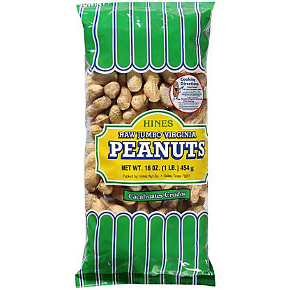 Hines Raw Jumbo Virginia In Shell Peanuts,1 LB