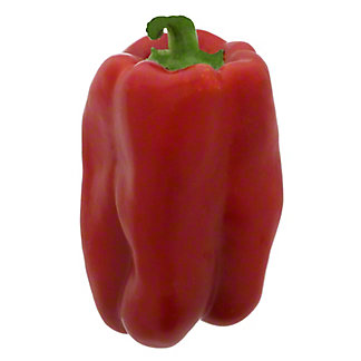 Fresh Red Bell Peppers, EACH