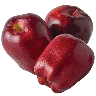 Fresh Medium Red Delicious Apples