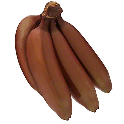 Fresh Red Bananas,sold by the pound