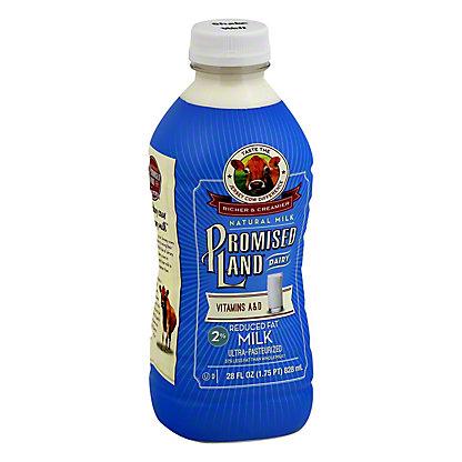 Promised Land Reduced Fat 2% Milk, 28 oz