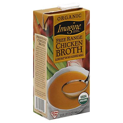Imagine Organic Free Range Chicken Broth,32 OZ