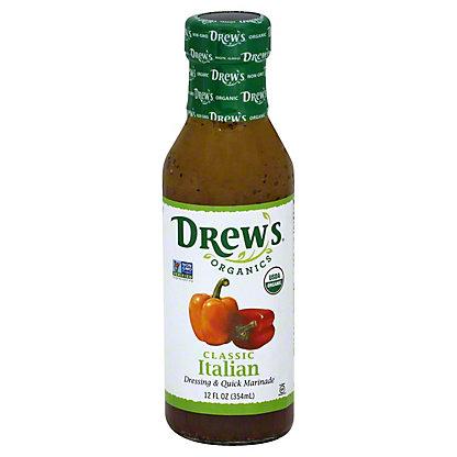 Drew's Natural Garlic Italian Salad Dressing,12 OZ