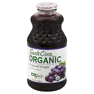 Santa Cruz Organic Concord Grape Juice,32 OZ