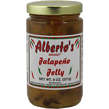 Alberto's Jalapeno Jelly, 8 OZ
