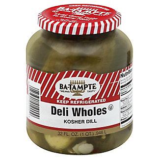 Ba-Tampte Deli Wholes Kosher Dill,32 OZ