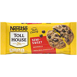 Nestle Toll House Semi-Sweet Morsels, 12 oz