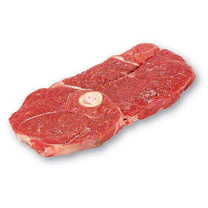 H-E-B Natural Pork Leg Of  Steak Center Cut Bone-
