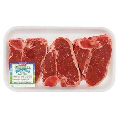 H-E-B Natural Pork Loin Chops Bone-In
