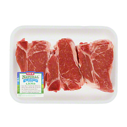 Fresh Natural Thick Lamb Loin Chop,LB