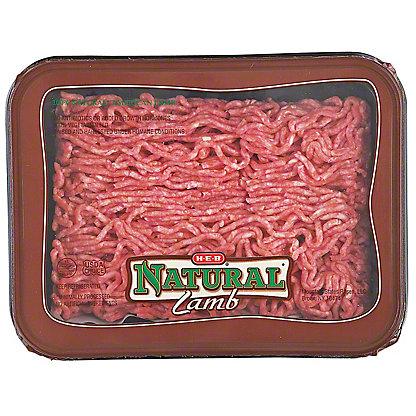 H-E-B Natural Ground Lamb 80% Lean, LB