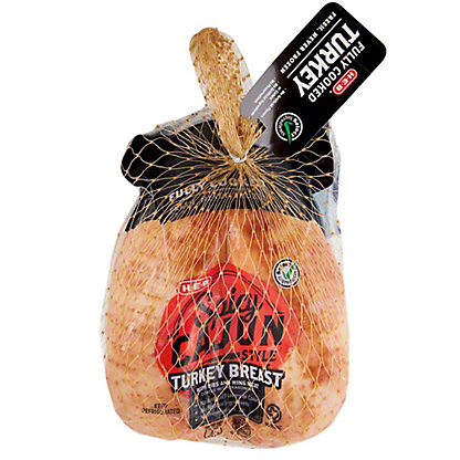 H-E-B Fully Cooked Cajun Style Turkey Breast,LB