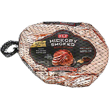 H-E-B Fully Cooked Spiral Sliced Brown Sugar Ham,sold by the pound