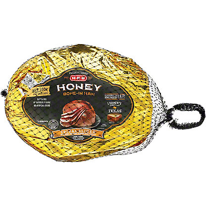 Honey-Cured Bone-In Spiral Sliced Ham Half, 8-9 lbs.