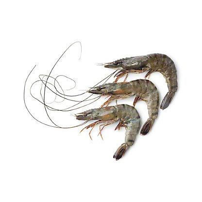 Frozen Raw Gulf Brown Shrimp Shell-On, Wild Caught, 21/25 ct