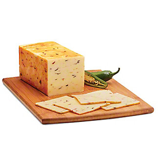 H-E-B Jalapeno Muenster Cheese,sold by the pound