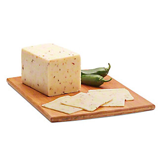 H-E-B Jalapeno Jack Cheese,sold by the pound