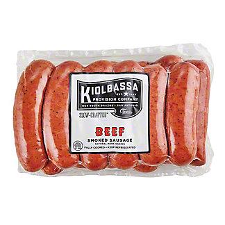 Kiolbassa Beef Sausage Links Value Pack