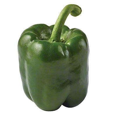 Fresh Green Bell Peppers, EACH