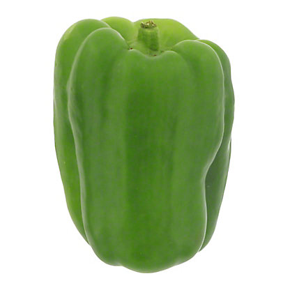 Fresh Green Bell Peppers, EACH