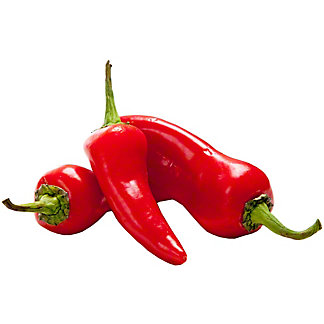 Red Fresno Peppers, By LB