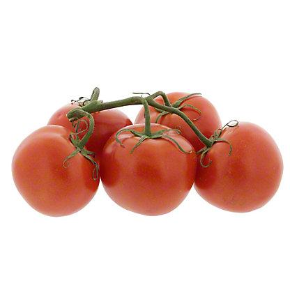 Fresh Organic Tomatoes on the Vine (4-5 Tomatoes)