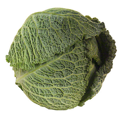 Fresh Organic Savoy Cabbage,sold by the pound