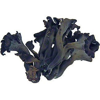 Black Trumpet Mushrooms, by lb