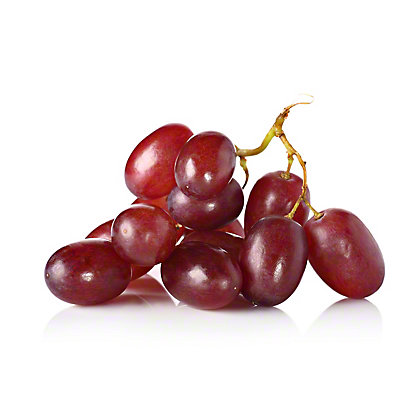 Fresh Organic Red Seedless Grapes