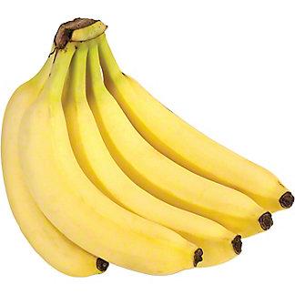 Fresh Bananas, sold by the bunch (5-7 Bananas)