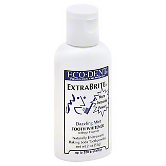 Eco-Dent ExtraBrite Dazzling Mint Tooth Whitener, 2 oz