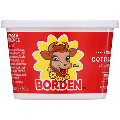 Borden Small Curd Cottage Cheese,16 OZ