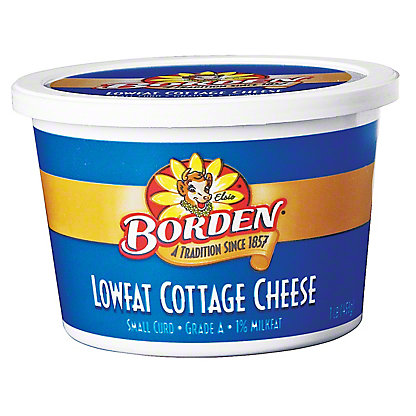 Borden Lowfat Cottage Cheese,16 OZ