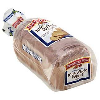 Pepperidge Farm Stone Ground 100% Whole Wheat Bread,16 OZ