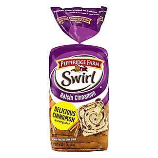 Pepperidge Farm Swirl Raisin Cinnamon Bread,16 oz