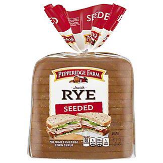 Pepperidge Farm Seeded Jewish Rye Bread,16.00 oz
