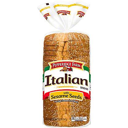 Pepperidge Farm Sliced Enriched Italian Bread With Sesame Seeds,20.00 oz