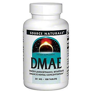 Source Naturals DMAE Capsules, 100 ct