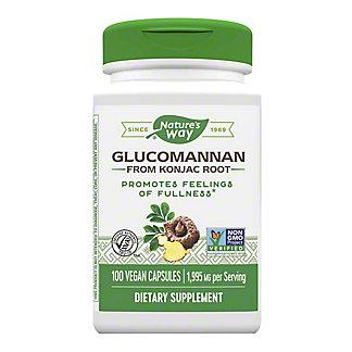 Nature's Way Premium Herbal Glucomannan Root 665 Mg Vegetarian Vcaps, 100 CT