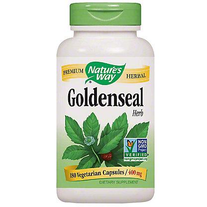 Nature's Way Goldenseal Root Capsules, 180 ct