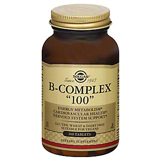 Solgar B-Complex '100' Mg Tablets, 100 CT