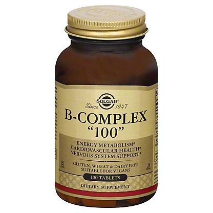 Solgar B-Complex '100' Mg Tablets, 100 CT