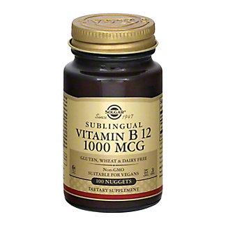 Solgar Vitamin B-12 1000 Mg Sublingual Nuggets,100 CT