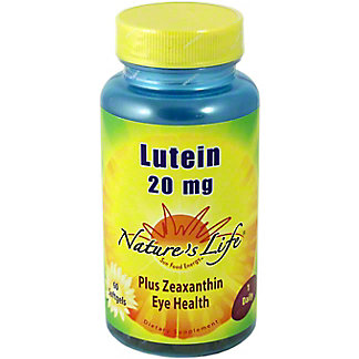 NATURES LIFE Lotein 20 Mg. Tablets, 50 CNT