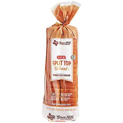 H-E-B Bake Shop Split Top Wheat Bread,24.00 oz