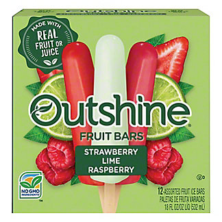 Nestle Outshine Assorted Fruit Bars, 12 ct