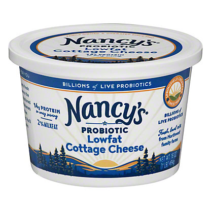 Nancys Cultured Lowfat Cottage Cheese,16 OZ
