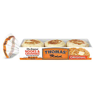 Thomas' Original English Muffins, 6 ea